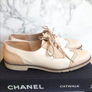 Salvatore Ferragamo duo color Oxford shoes